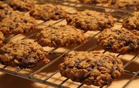 galletas de avena y nuez